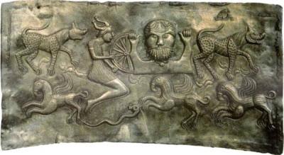 Gundestrup Cauldron - Panel 1