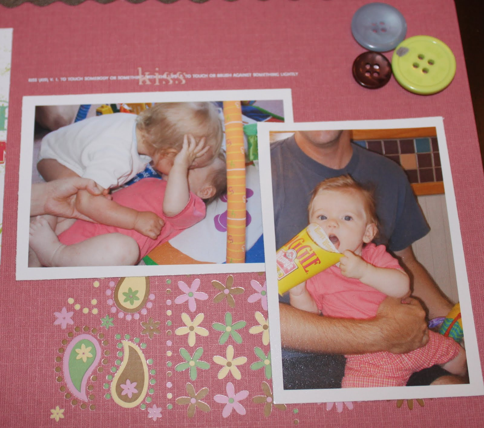 marley�s baby scrapbook alison day designs page 2