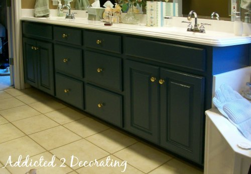 bathroom cabinets painting bathroom cabinets