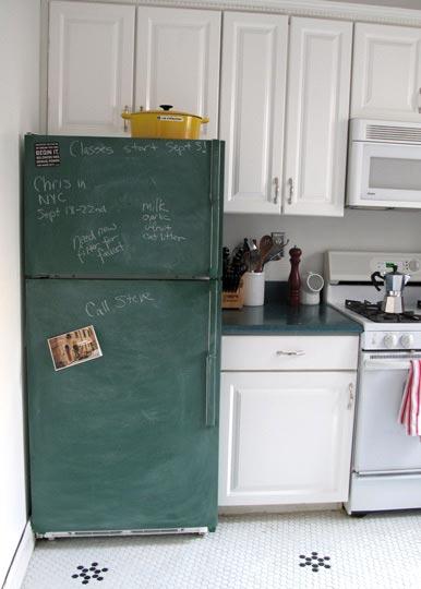 Как холодильник сделать белым