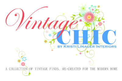 Vintage Chic by Kristi Linauer Interiors, a collection of vintage finds, re-created for the modern home