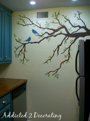 My Kitchen Wall Mural…