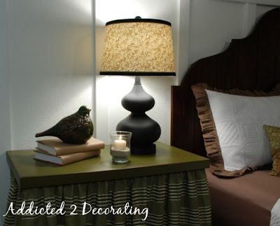 How to cover a lampshade with fabric - tutorial