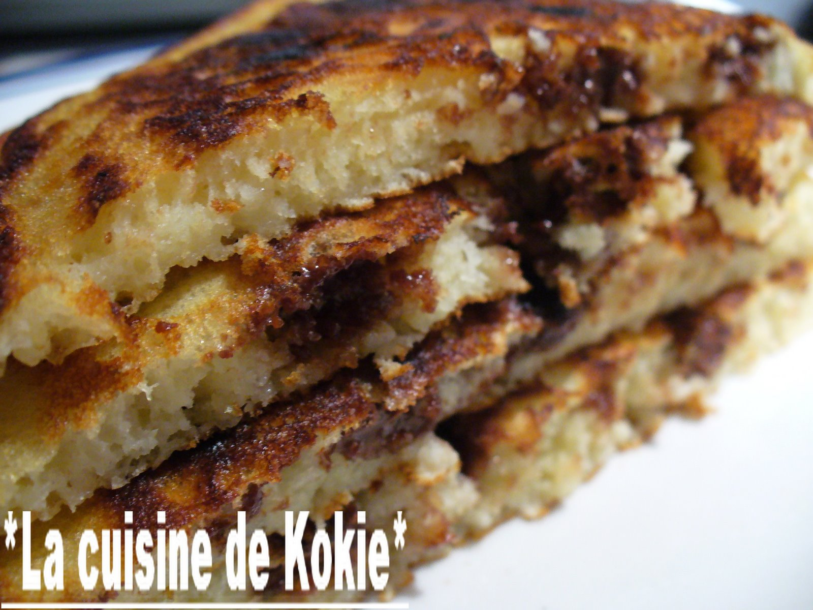 recettes  Crpes  la crme au chocolat