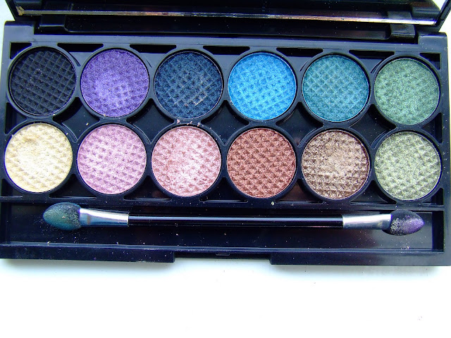 sleek original palette eyeshadow