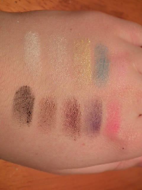 beauty uk eyeshadow palette swatch