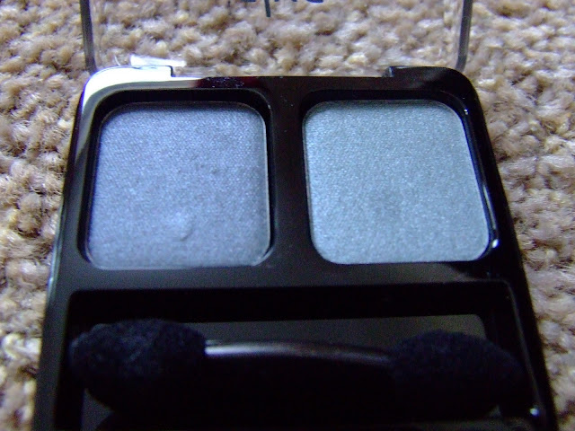 alva cosmetics organic duo eye shadow in silver