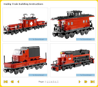 Lego Train Instructions Free