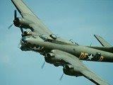 vintage B-17 Airplane