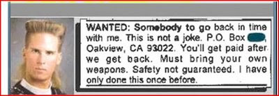 sample classified ad
