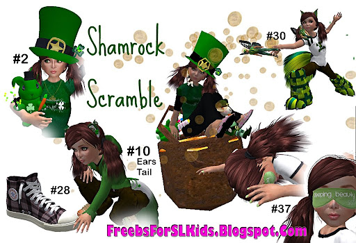 the Shamrock Scramble Hunt