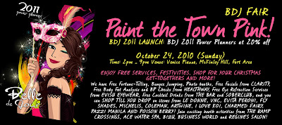 BDJ Fair's Paint the Town Pink! on October 24