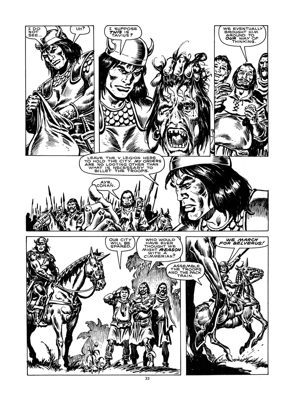 The Savage Sword Of Conan Issue #148 #149 - English 32