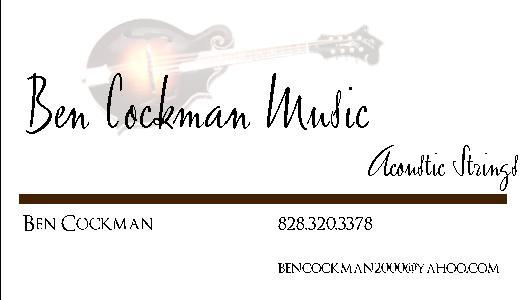Ben Cockman Music
