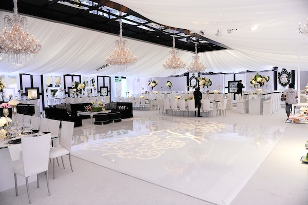 khloe kardashian wedding reception decor