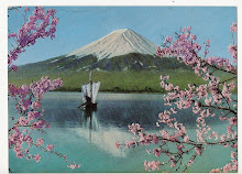 POSTCARD OF MT FUJI 1961