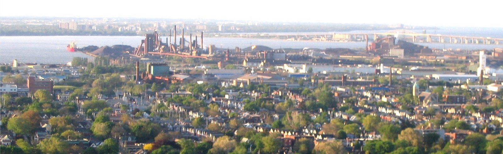 Hamilton Harbour Viewed from the Escarpment
