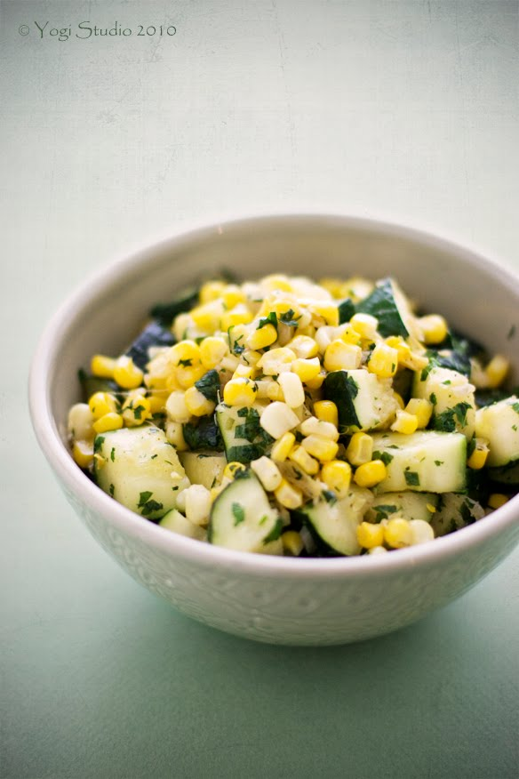 Zucchini two ways: Saute Zucchini with Corn, Zucchini with Dill ...