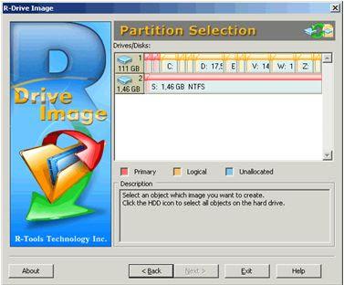R-Drive Image cria cópias exatas de seu disco rígido facilmente.