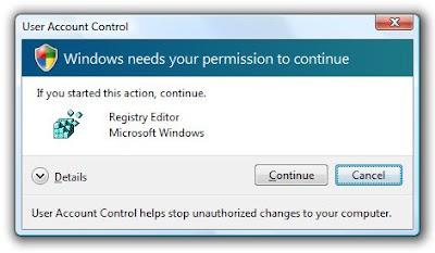 Desativando o Controle de Conta de Usuário no Windows Vista