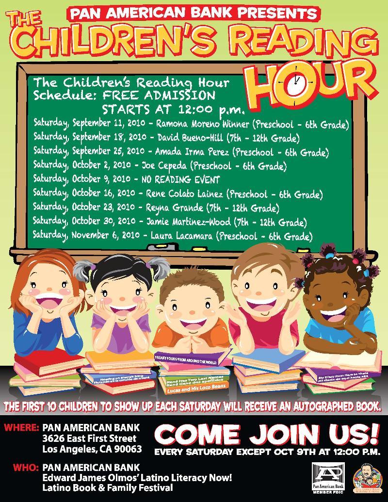 la bloga the children s hour book reading hour meet author amada irma peacuterez