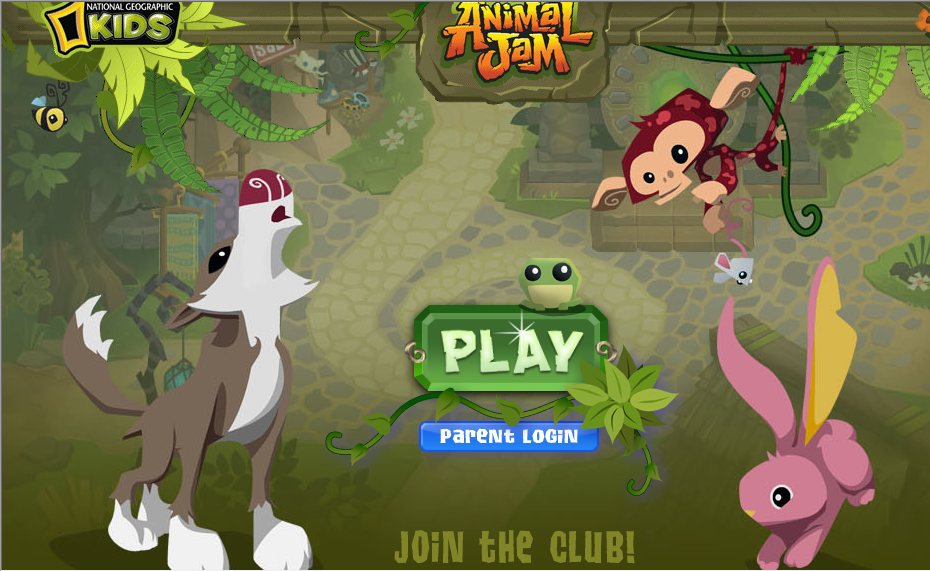animal jam website