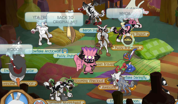 Animal Jam Where Is Pillow Room : Fuzzy Shyivy s Animal Jam Rush - The Best Animal Jam Cheats and more!: December 2010