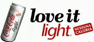 Coca  Cola  Light - Love It Light
