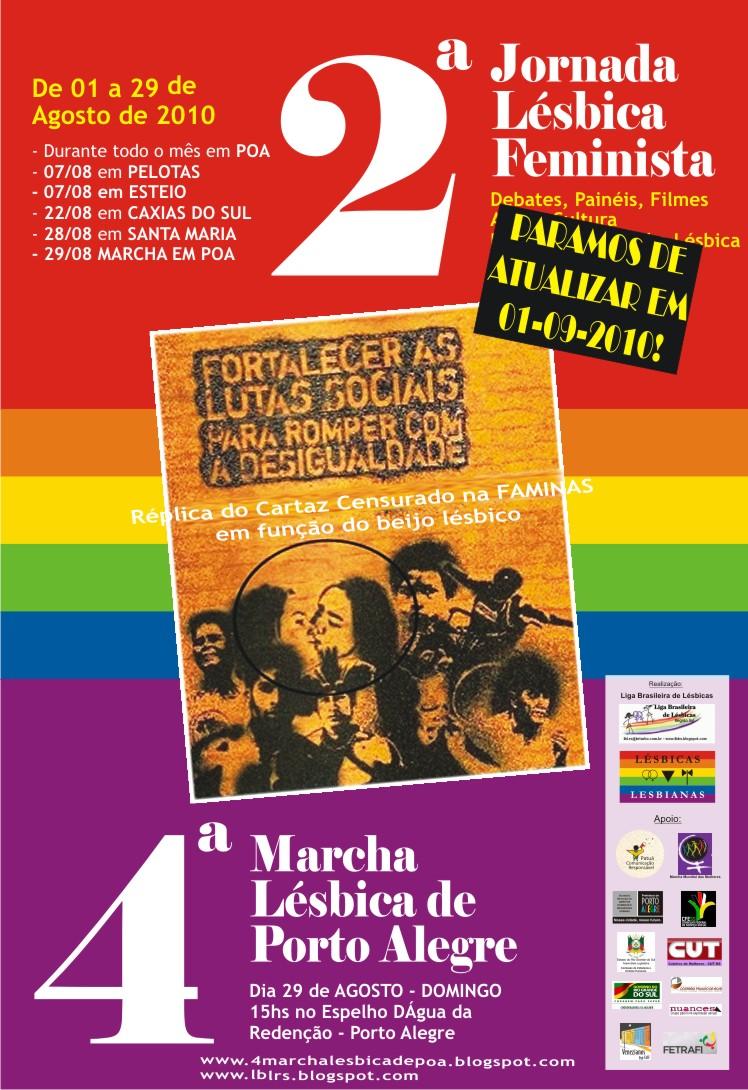 Esteja com a gente gritando nosso direito a uma sexualidade livre de preconceitos!