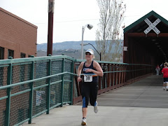 The Finish of my 1/2 Marathon