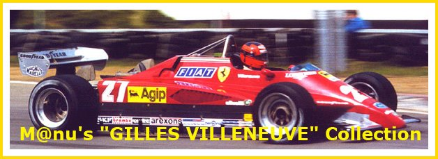 "M@nu' s ""GILLES VILLENEUVE"" collection"