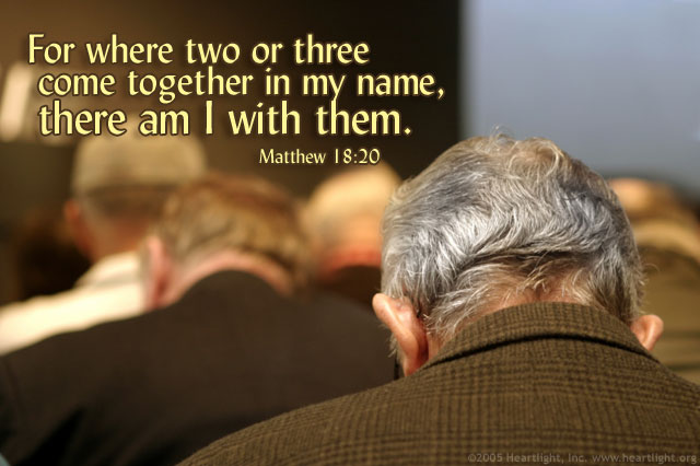 Matthew 18 20