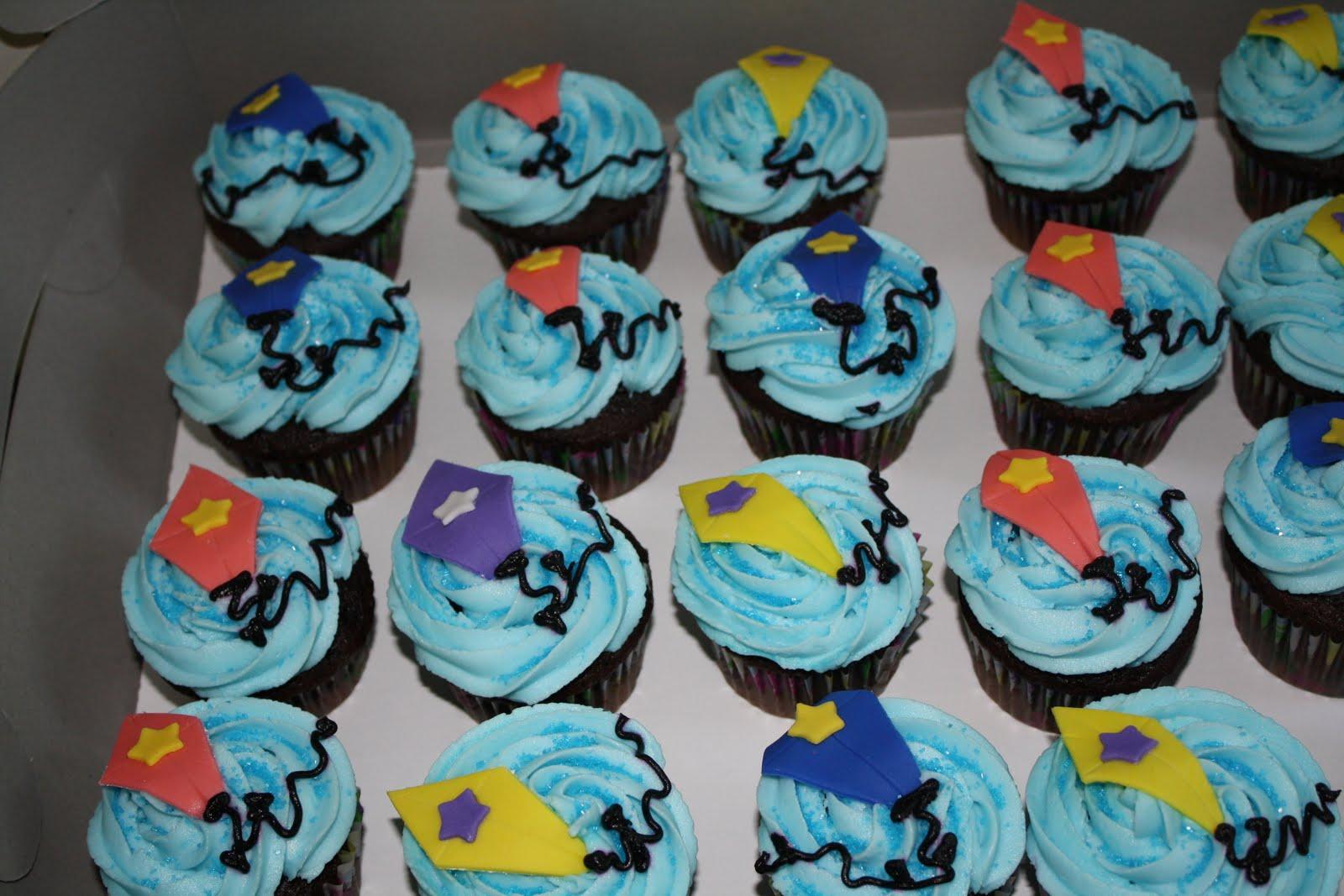 Cakelicious Kite Cupcakes