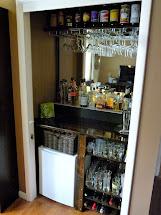 Convert Closet into Bar