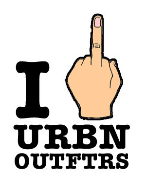 Urban Outfitters Victimized