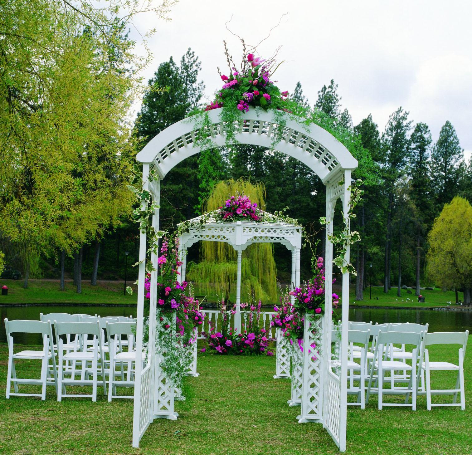 Sash Wedding Rentals And Custom Decor Arches Gazebos