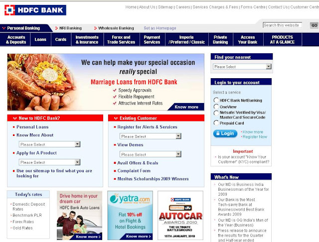 HDFC Card - Login to HDFCBank.com for Credit Card Bill Payment