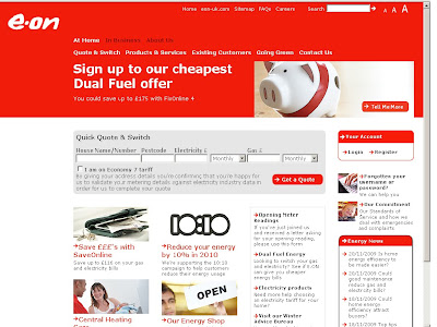 E.ON : Login To Eon Energy Online Account