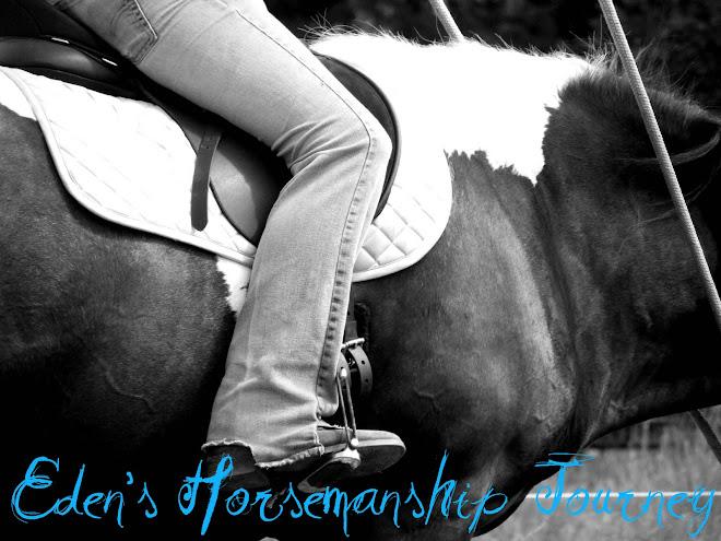 Eden's Horsemanship Journey