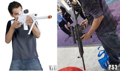 Un gilet fait ressentir les blessures par balle dans les jeux vidéo Fusils-ps3-wii-CTA-