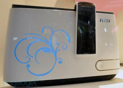 msi toast pc MSI Toast: PC look Grille Pain (Photos)