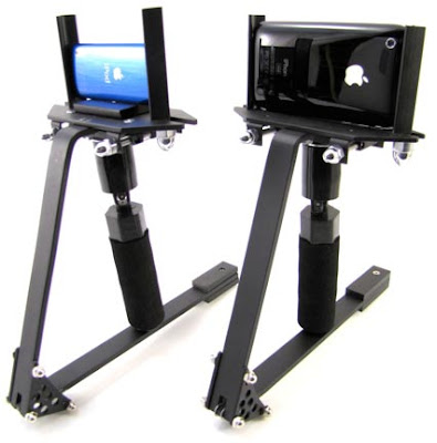 isteady shot iphone ipod iSteady Shot: Vrai SteadyCam pour iPhone 3GS et iPod Nano