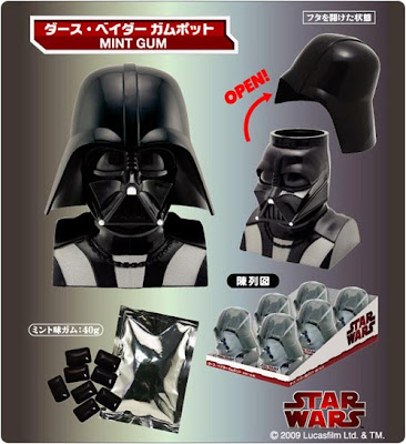 chewing gum dark vador Star Wars: Chewing Gum Dark Vador pour Geek