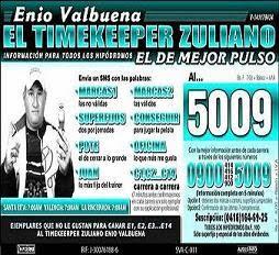 EL TIMEKEEPER ZULIANO.