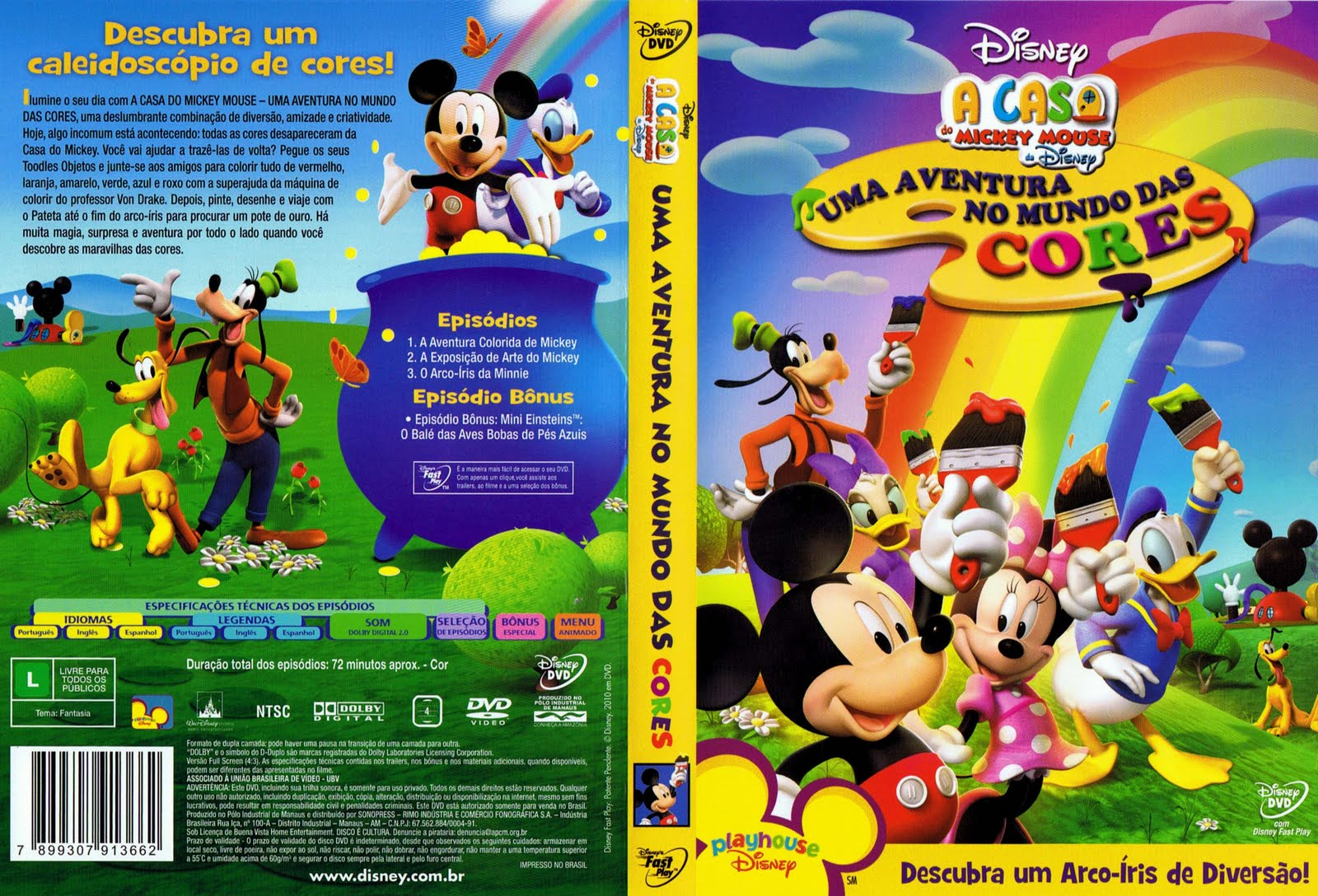 Casa Do Mickey Mouse   Uma Aventura No Mundo Das Cores