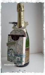 Champagnefleshouder