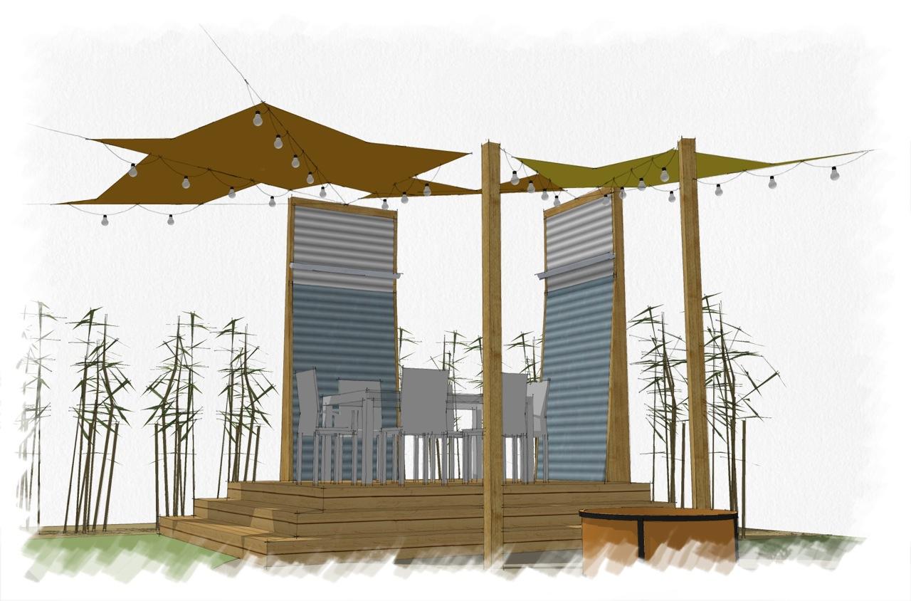 westin gaudet architecture portfolio backyard design