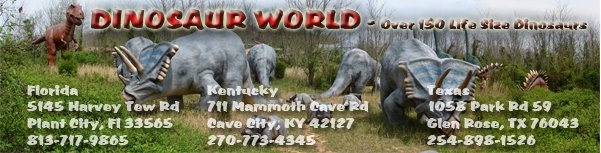 Dinosaur World Blog
