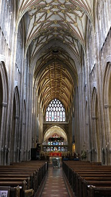 St Mary Redcliffe Parish Church in Bristol