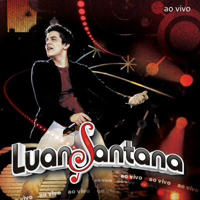 Capa do álbum Luan Santana   Meteoro Ao Vivo 2010
